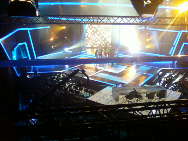 X-Faktor színpad